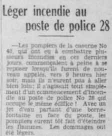 pompier police